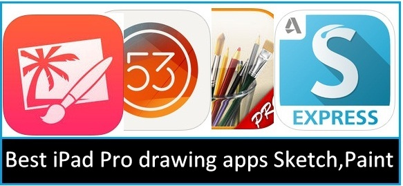 583x269 Best Ipad Pro Drawing Apps Sketching, Painting, Creative Arts