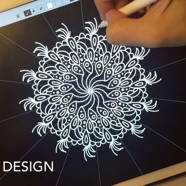 607x607 More Fun With The Amaziograph App! Video Details Ipad Pro +