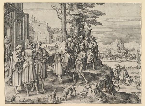 600x437 Lucas Van Leyden The Return Of The Prodigal Son The Met