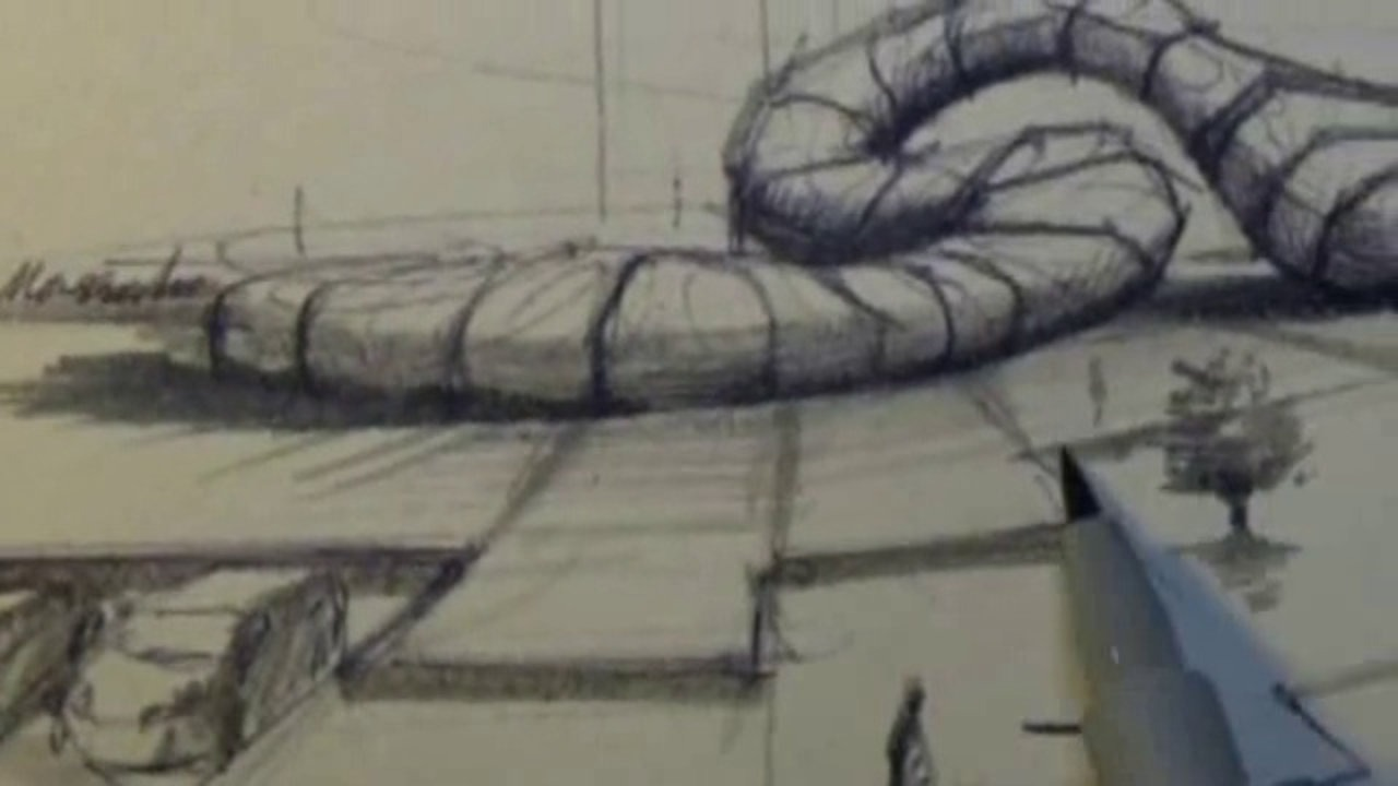 1280x720 How To Draw A Bedroom Professional Sketch