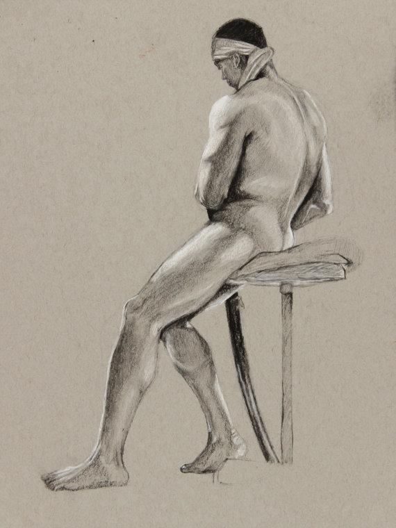 570x760 Samurai Drawing Academic Sketch Figure Study Samurai