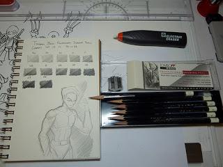 320x240 Tombow Mono Professional Drawing Pencil Set Of 12 Spotlight Art