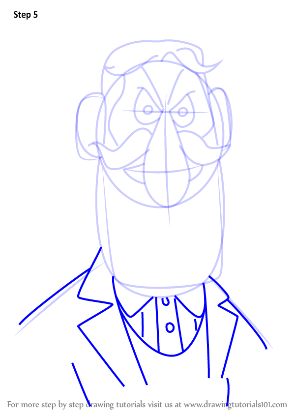 598x844 Learn How To Draw Professor Hinkle From Frosty The Snowman (Frosty