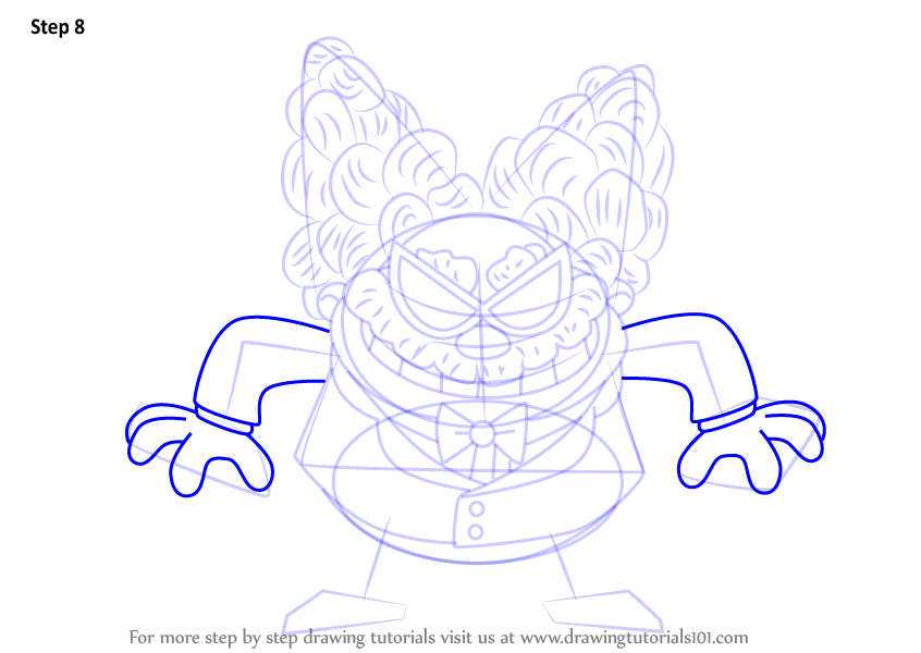 846x600 Learn How To Draw Professor Poopypants From Captain Underpants