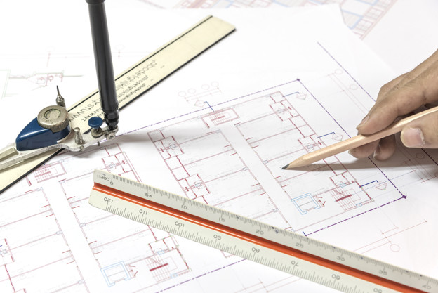 624x417 Architectural Plans Project Drawing And Blueprints Rolls With Eq