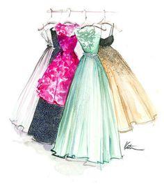 236x268 Fashion Sketches Prom Dresses