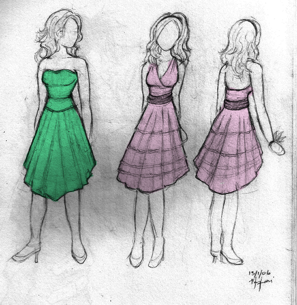 600x616 Formal Dresses By Mayo Naise