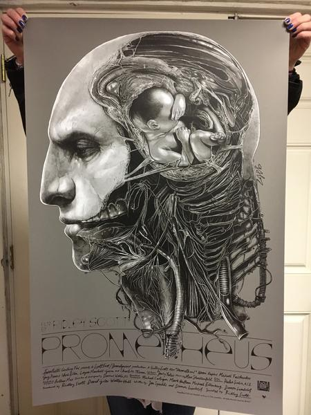 450x600 Grey Matter Art Prometheus By Gabz Available Tomorrow! Dark Ink