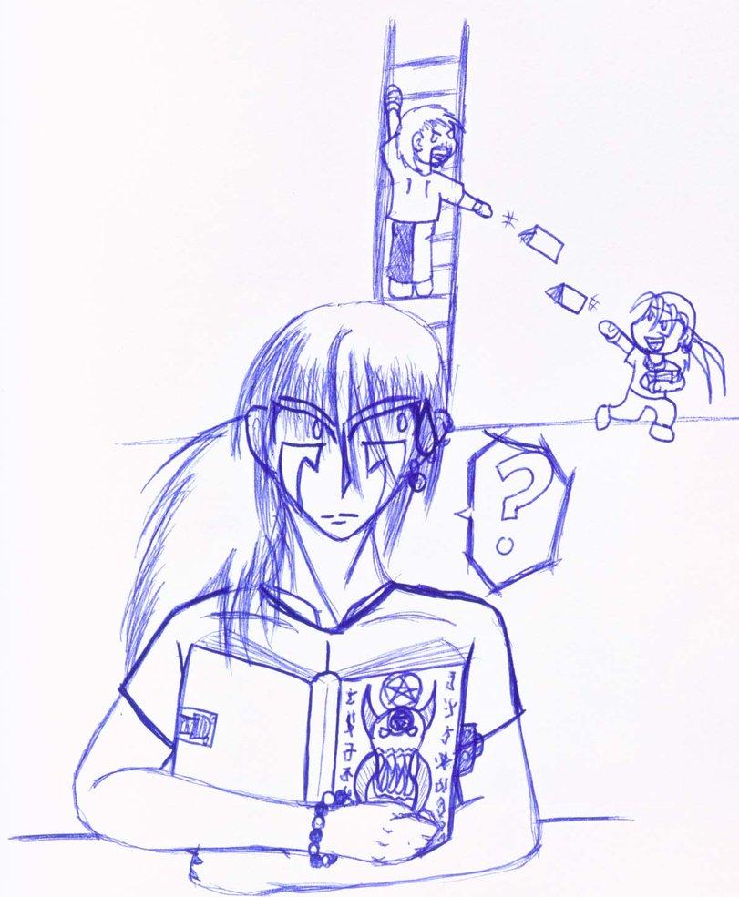 811x985 Psychology Drawing 2 By Theminiarkana