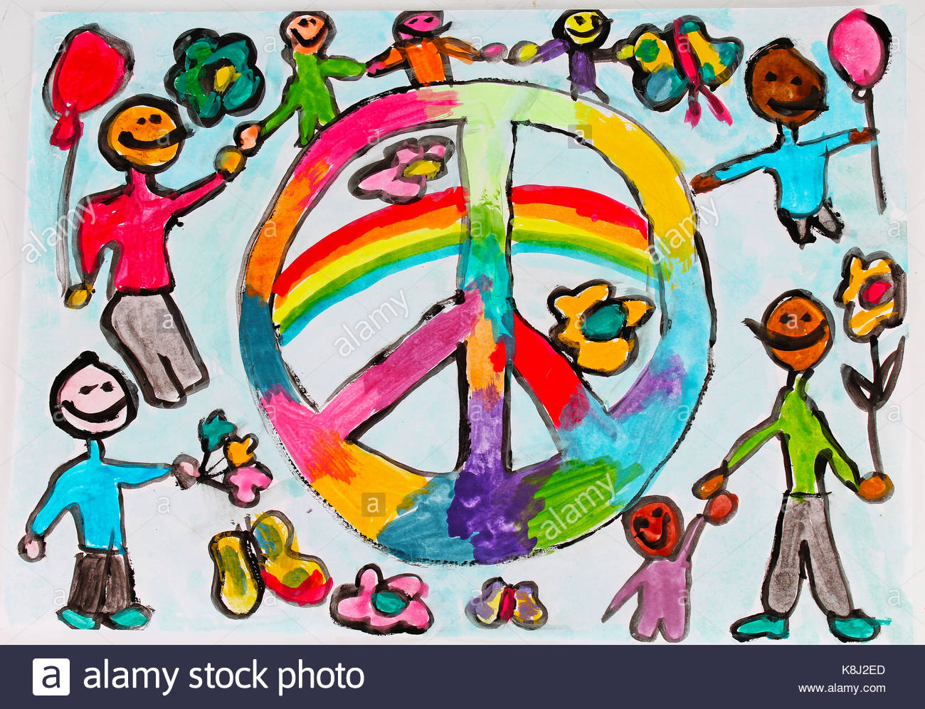 1300x996 World Peace Child Draw. Children Drawings Kid's Draws Collection