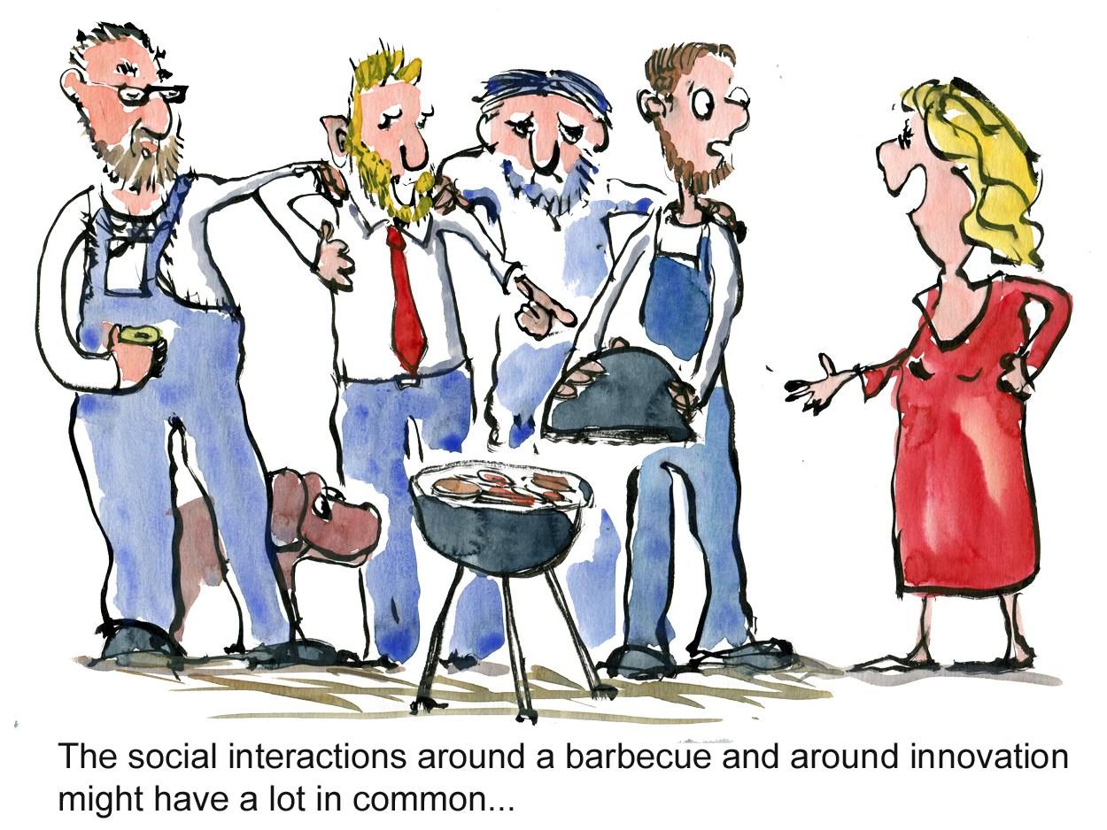 1250x938 Color Illustration Babercue Group Dynamics Innovation Psychology