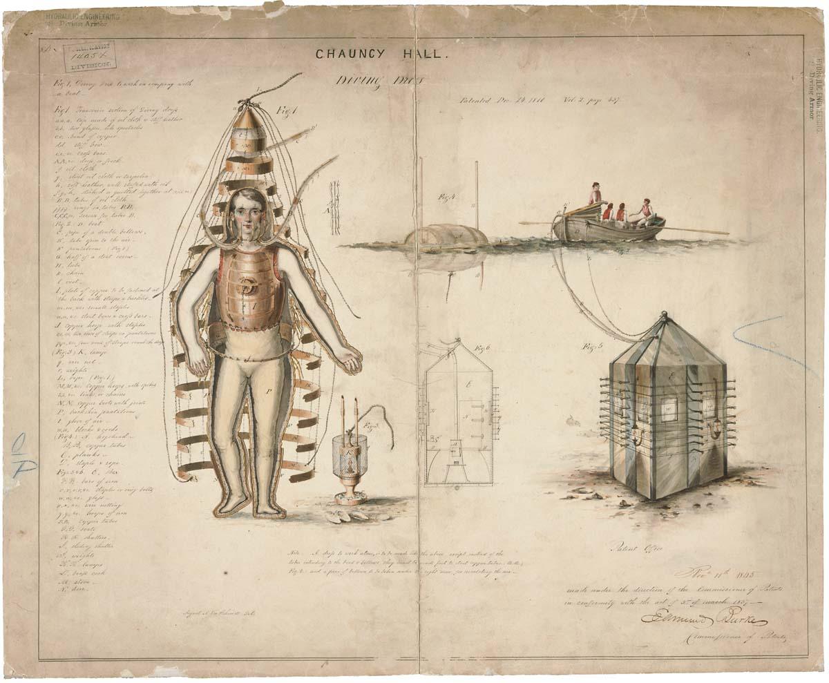 1200x989 Filedrawing Of Diving Dress, 12 24 1810
