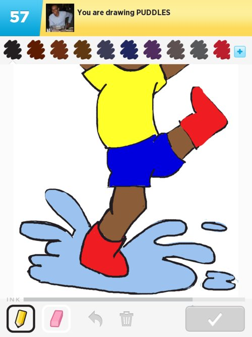 500x667 Puddles Drawings