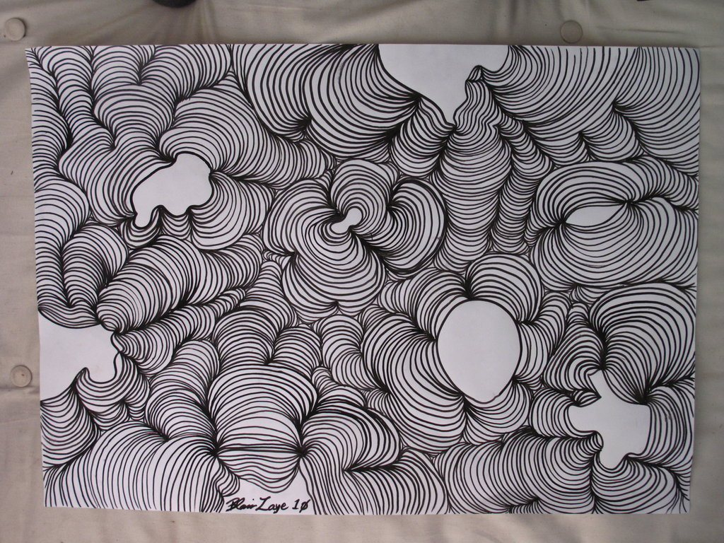 1024x768 Time Puddle Drawing By Maximumdefiance