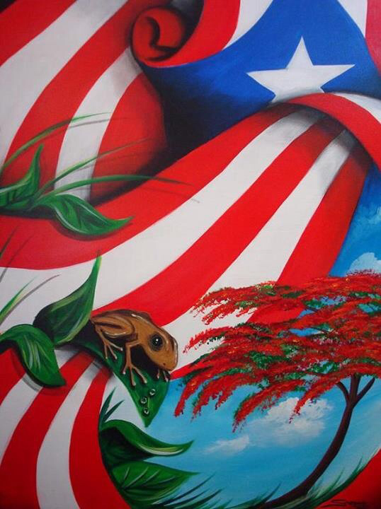 Puerto Rican Flag Drawing At Getdrawings Free For Personal Use