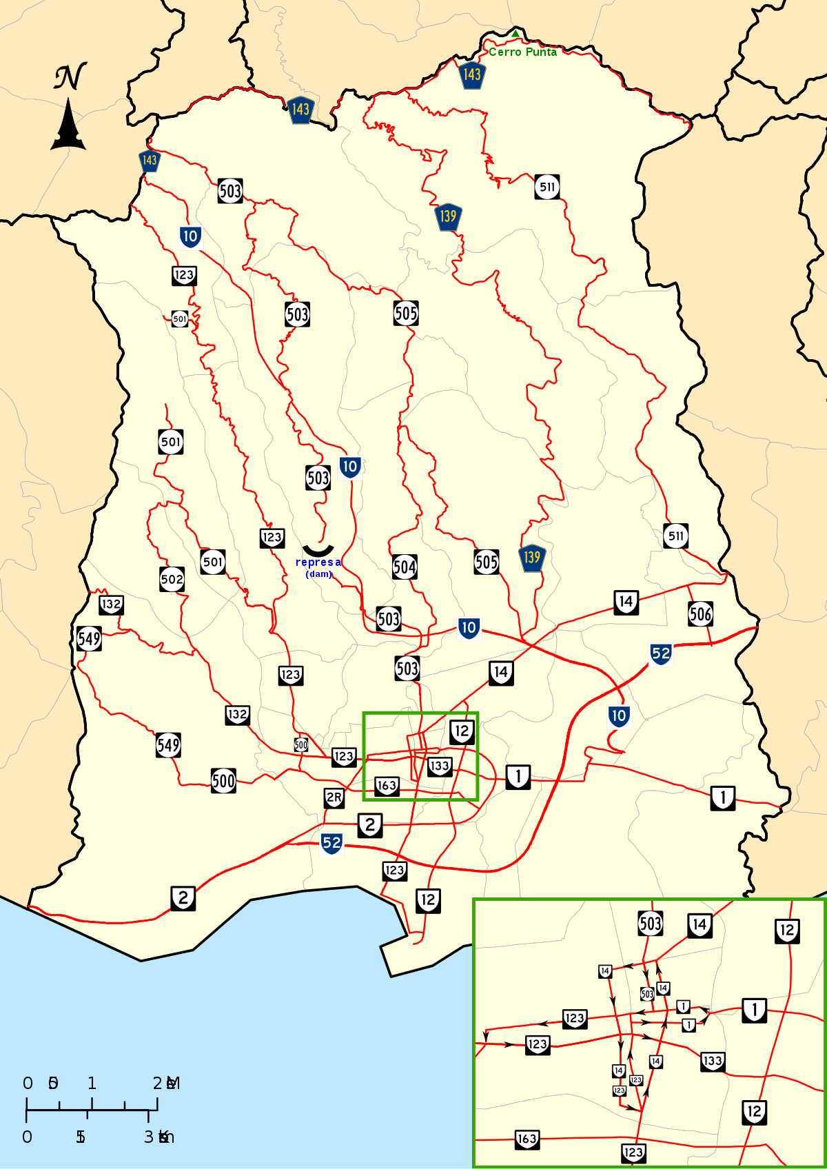1200x1696 List Of Roads In Ponce, Puerto Rico
