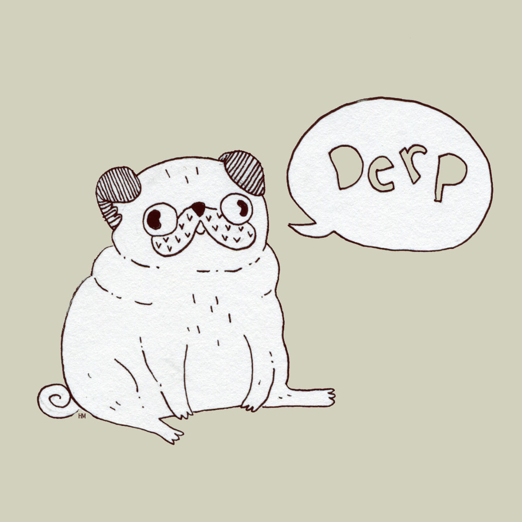 1038x1038 Drawing Of A Pug