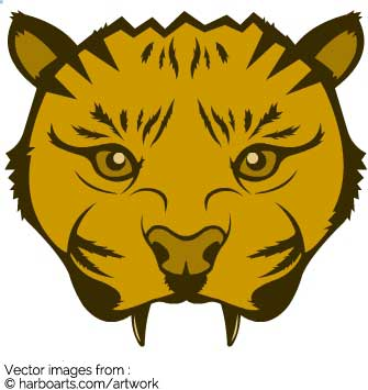 335x355 Download Puma Face Drawing