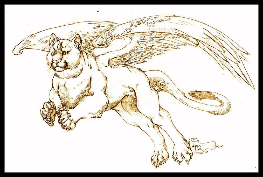 1090x733 Fantasy Puma By Izapug
