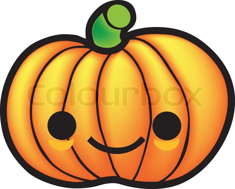 Pumpkin Cartoon Drawing at GetDrawings | Free download