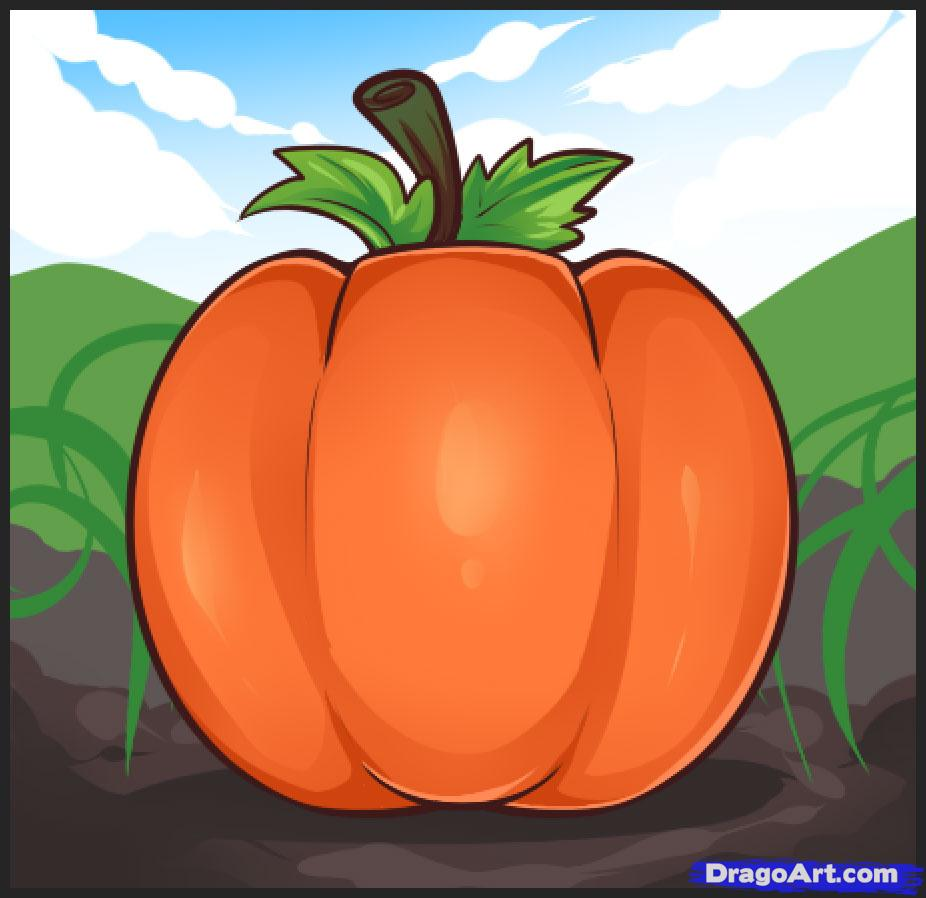 926x898 How To Draw Pumpkins, Step By Step, Food, Pop Culture, Free Online