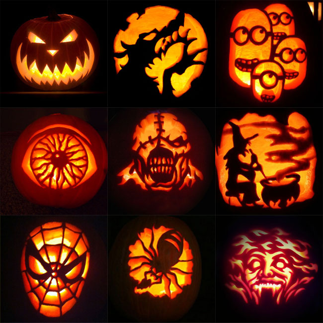 650x650 Scary Halloween Pumpkin Drawings Fun For Christmas
