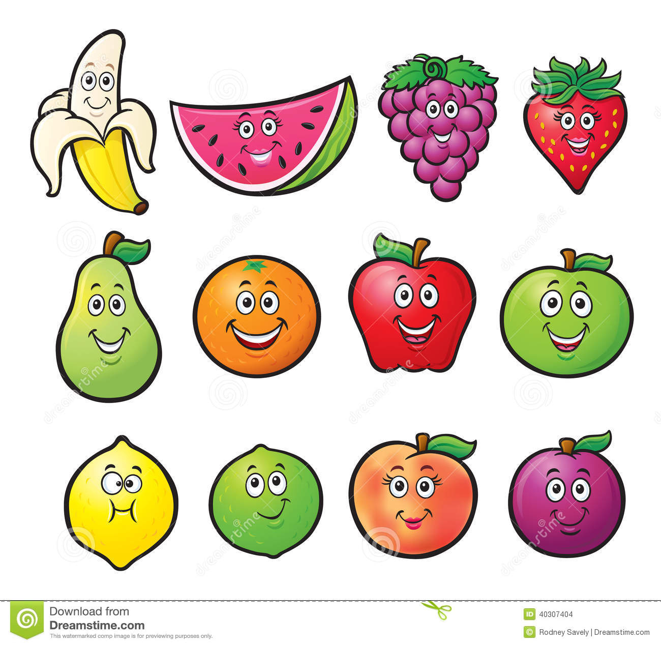 1300x1270 Cartoon Fruit Drawings Cartoon Fruit Drawings How To Draw