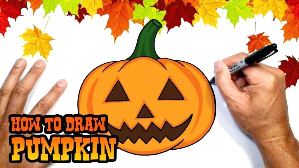 1024x576 Pumpkin Drawing How To Draw Pumpkin Drawing Lesson Images Free