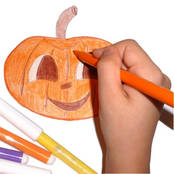 350x350 Pippi's Blog Halloween Drawings For Kids