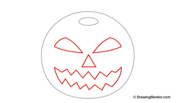 600x350 How To Draw A Pumpkin Step By Step Tutorial