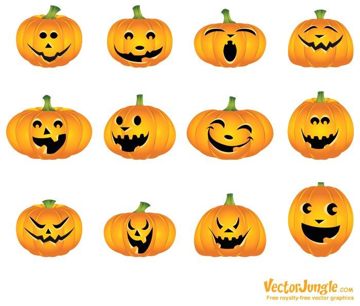 700x596 Pumpkin Face Drawing Ideas