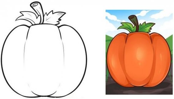 570x323 Learn To Draw For Kids. Halloween Pumpkin Drawing Tutorial How