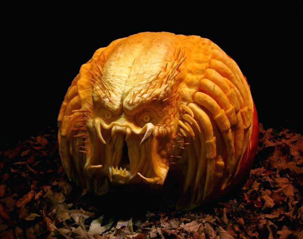 1000x792 Decoration Cool Halloween Pumpkin Carving Face Drawings. Cool