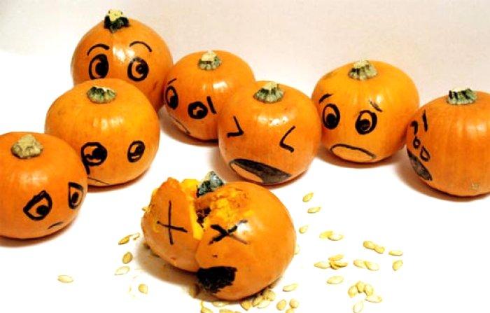 700x447 Pumpkin Face Drawing Ideas