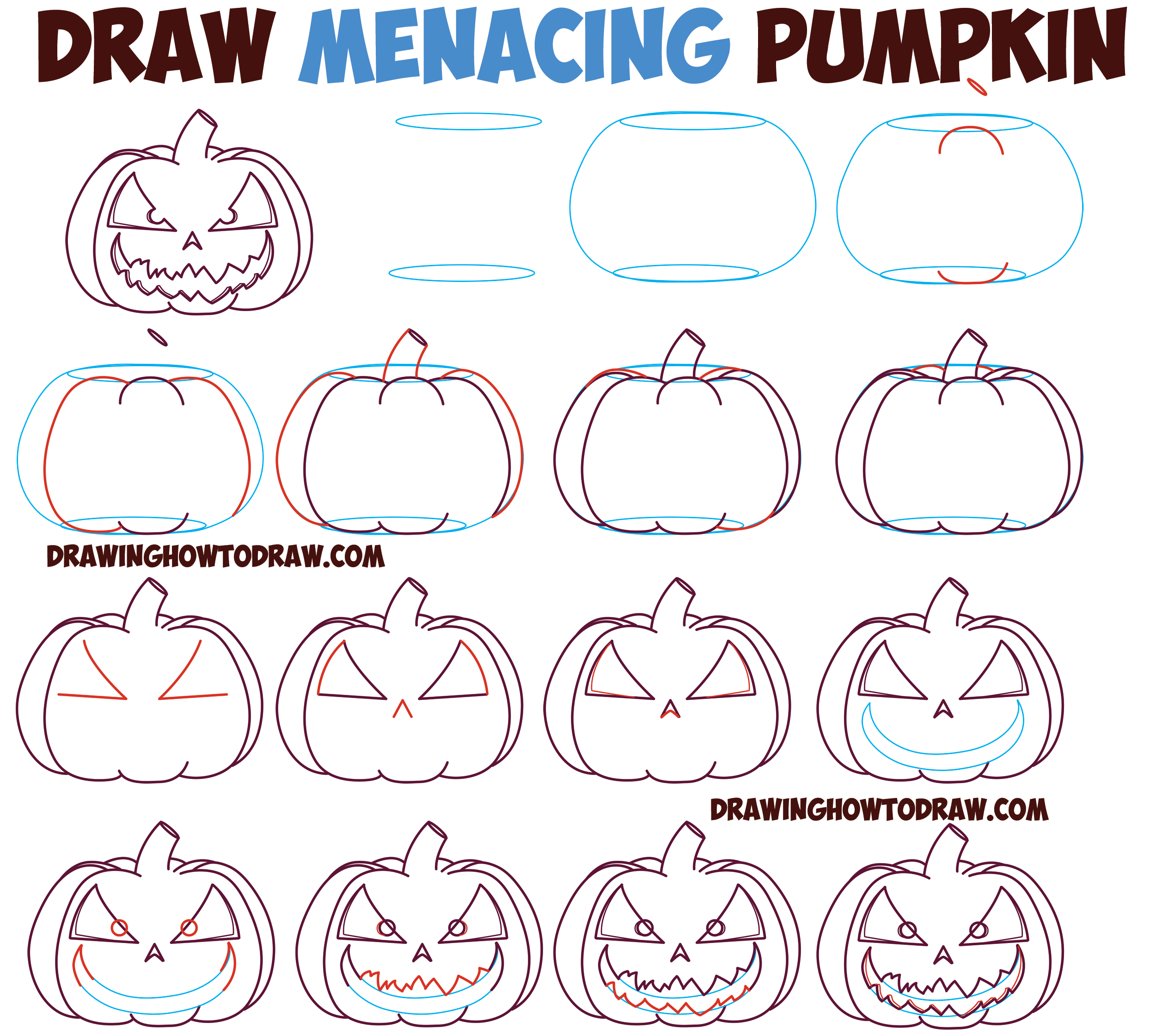 2501x2241 Pumpkin Faces To Draw How To Draw A Scary Halloween Pumpkin Face