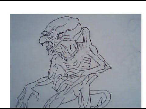 480x360 How To Draw Pumpkinhead (Drawing Lesson, Ep 220)