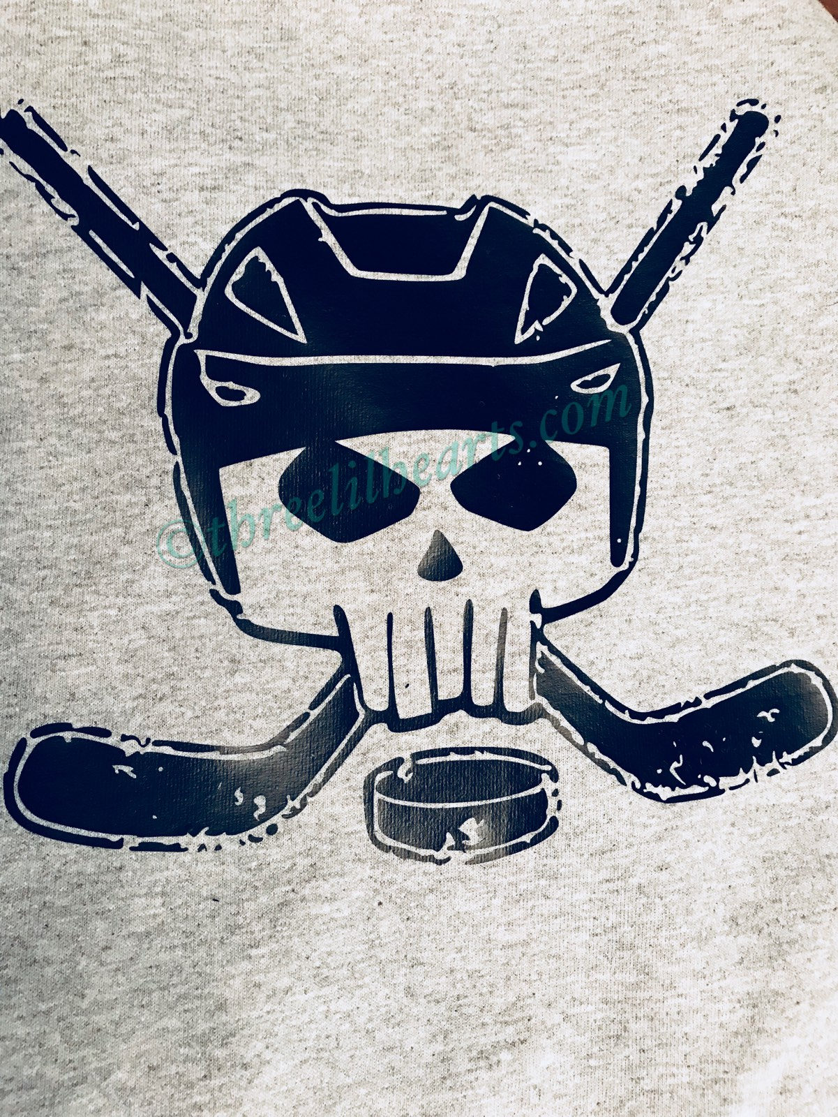 1201x1600 Hockey Punisher Skull Cross Sticks Perfect For Halloween T Shirt