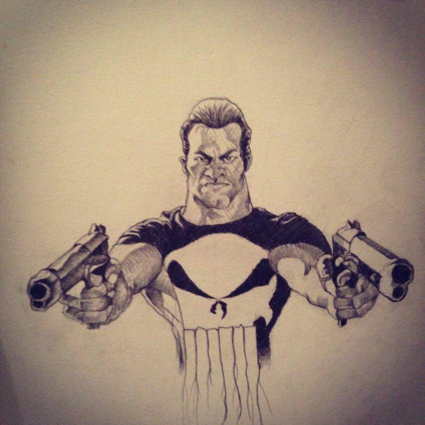 852x852 I Really Like Drawing The Punisher Like A Lot