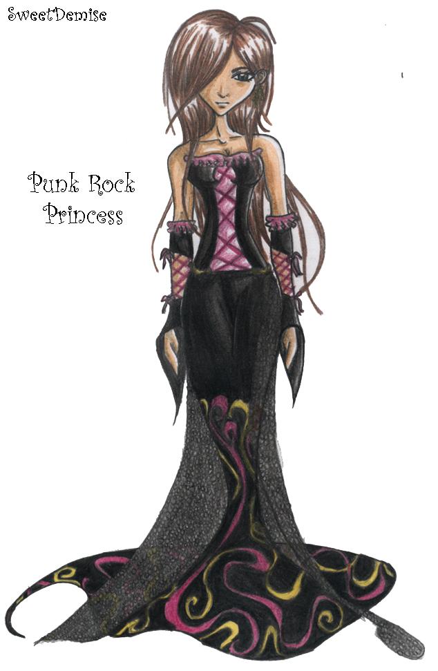 634x971 Punk Rock Princess By Sweetdemise