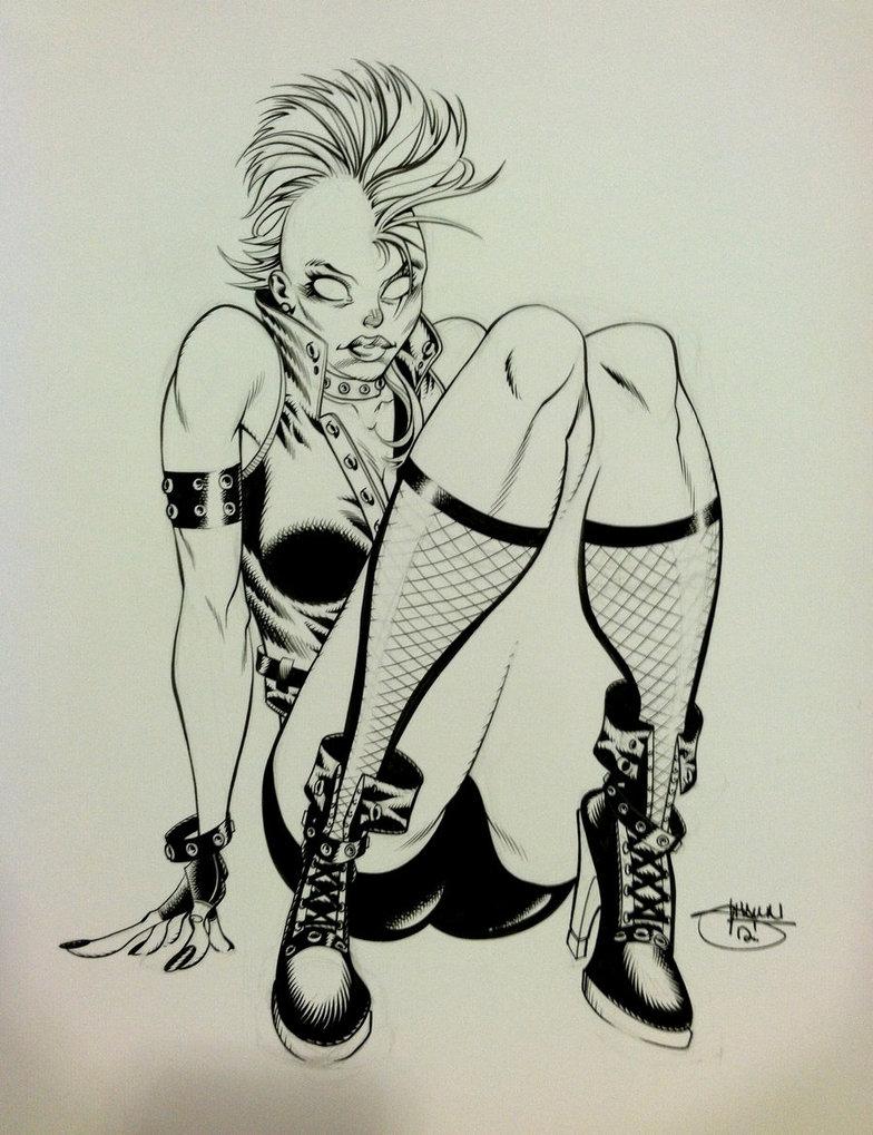 784x1019 Supercon Sketch, Punk Rock Storm By Inkpulp