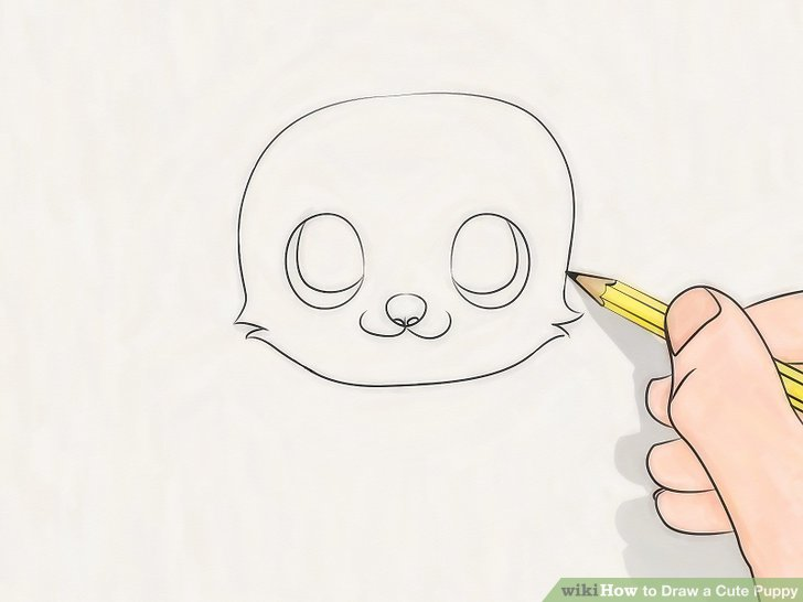 728x546 3 Ways To Draw A Cute Puppy
