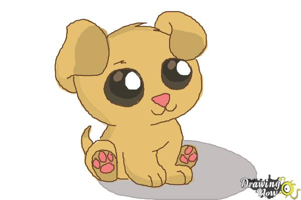 600x400 How To Draw A Chibi Puppy