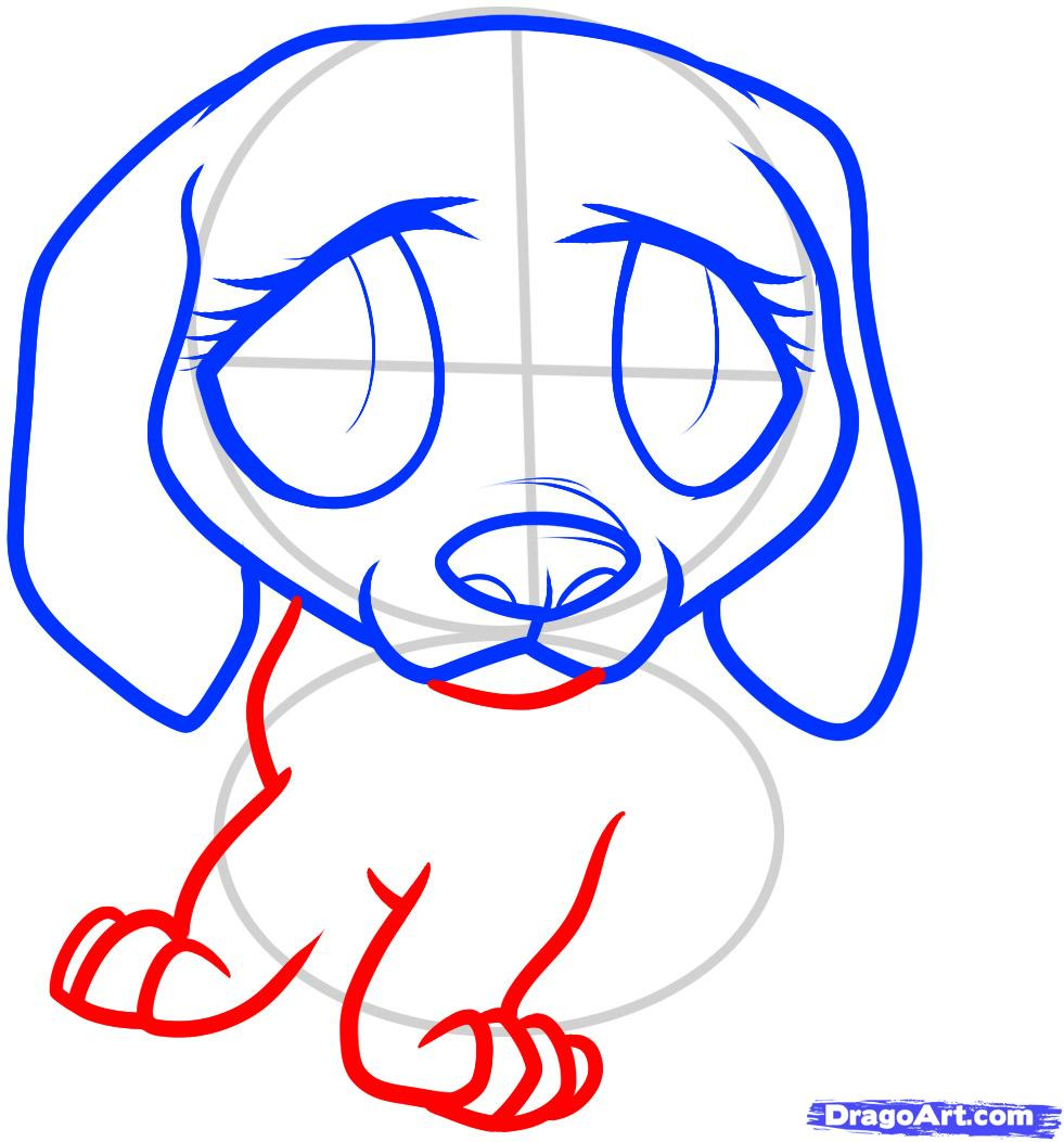 981x1053 Sad Puppy Face Drawing How To Draw A Beagle Puppy, Beagle Puppy