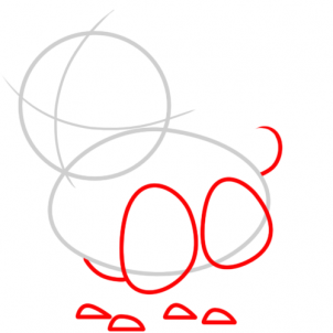 Puppy Paw Drawing At Getdrawingscom Free For Personal Use Puppy