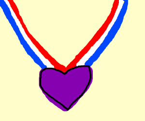 300x250 Purple Heart Medal()