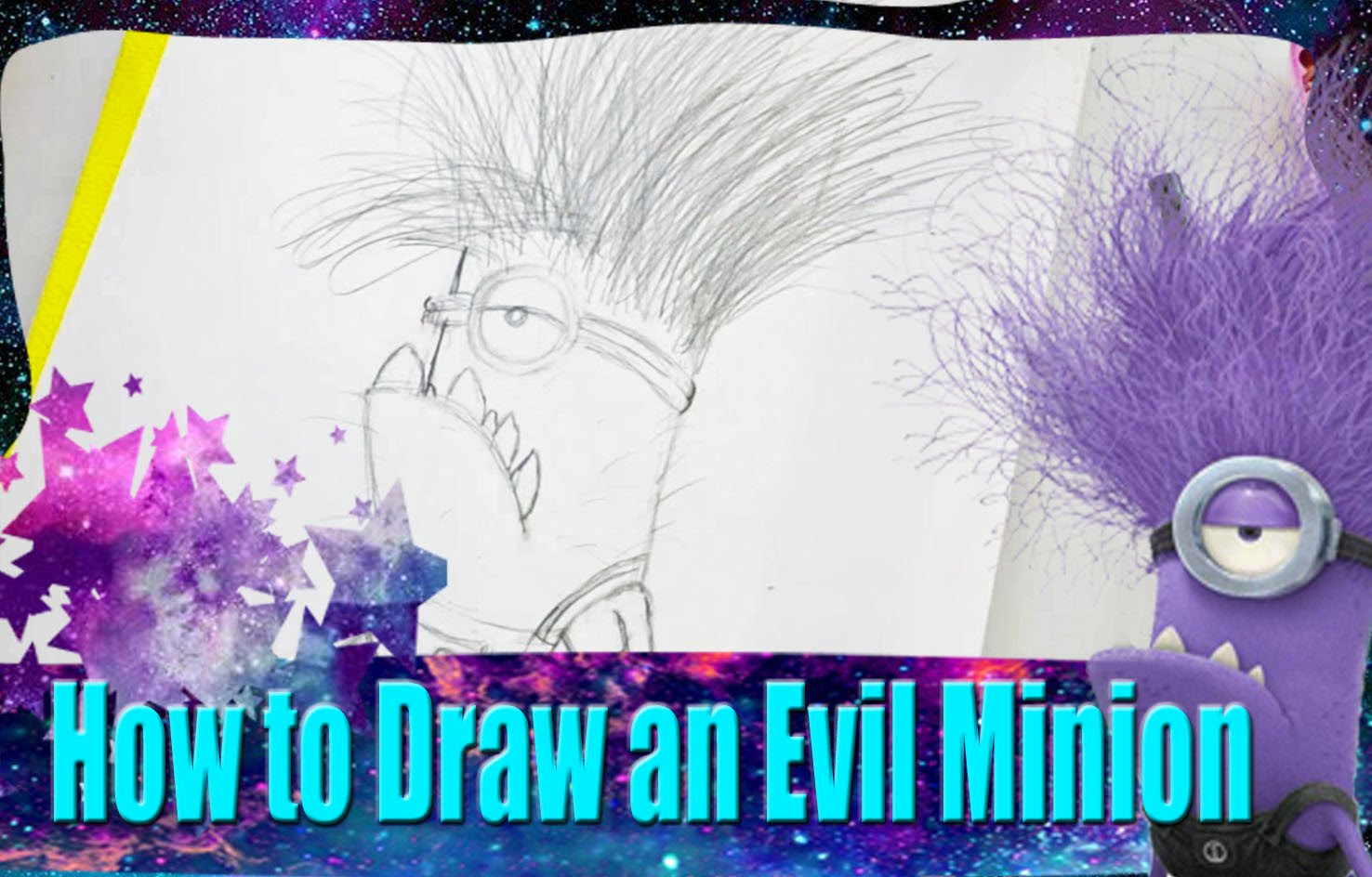 1476x944 How To Draw An Evil Minion From Dreamwork's Despicable Me 2