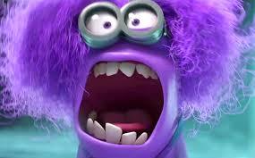 285x177 Purple Minion Drawing!