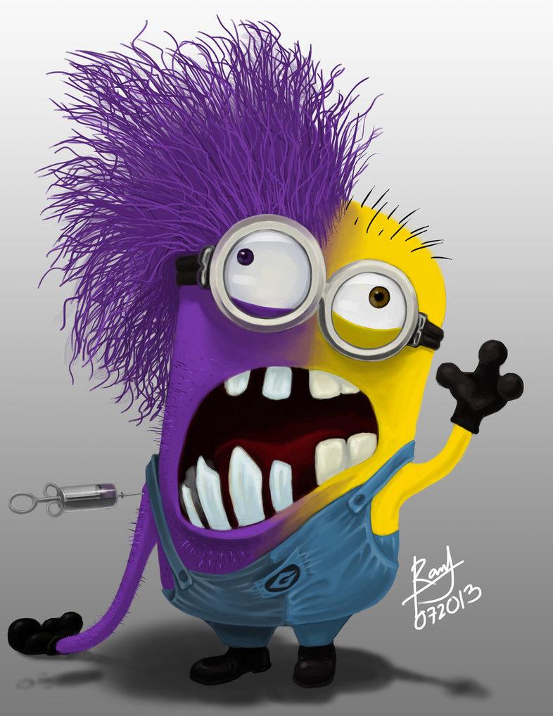 Purple Minions Drawing...