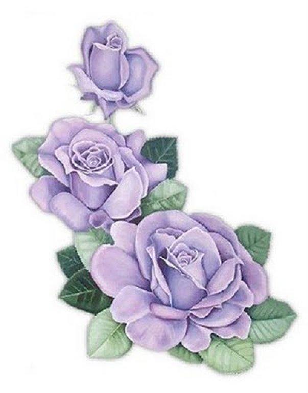 603x768 Purple Roses, Decoupage Printable Decoupage Mod Podge