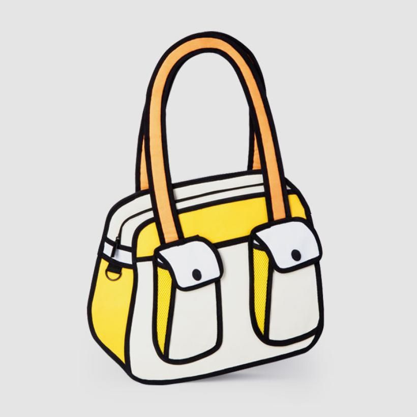 820x820 Awesome Bag From It Looks Like A Cartoon Drawing